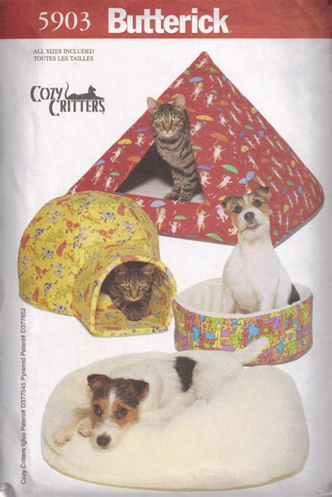 pattern for dog house pet beds diy pyramid igloo house for cats and dogs sewing