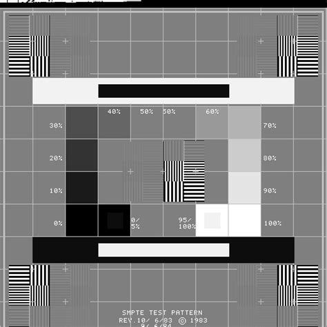 smpte test pattern ultrasound smpte test pattern