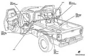 2000 ford ranger door jamb switch 2000 wiring diagram and circuit schematic