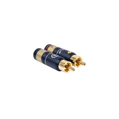 Rca Gold Set 436 viablue t6s xl rca gold plated 216 10 5mm set x4 audiophonics
