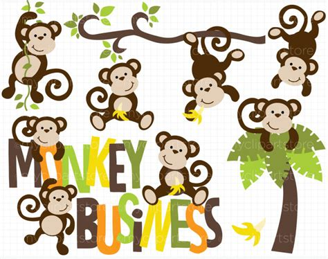 how to draw a monkey swinging on a vine best monkey clipart 15662 clipartion com