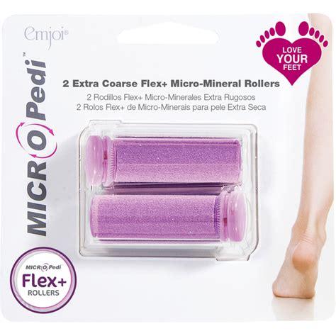Heel Detox Kit Uk by Emjoi Micro Pedi Coarse Flex Rollers Pink Buy