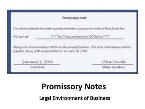 corporate promissory note template loan agreement form unsecured personal loans
