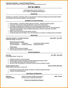 9  lab experience on resume   ledger paper
