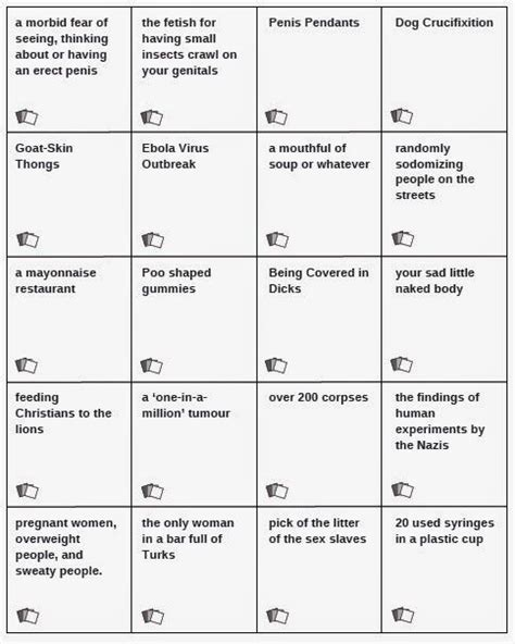 printable card against humanity expand your cards unofficial cards against humanity
