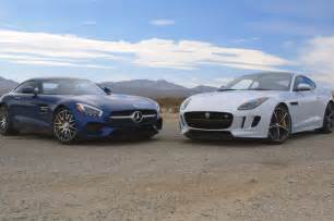Mercedes Amg Watches The Mercedes Amg Gt S Jaguar F Type Coupe R Go