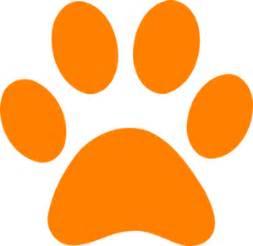 cartoon tiger paw clipart best