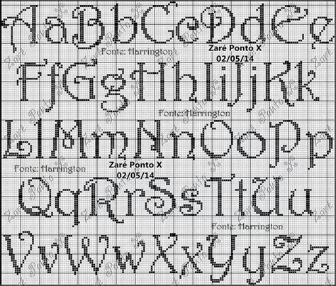 cross stitch pattern fonts the 25 best ideas about cross stitch font on pinterest