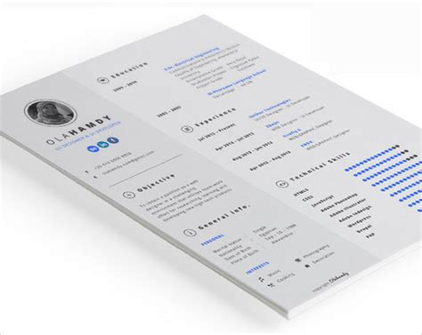 template resume free indesign 50 beautiful free resume cv templates in ai indesign