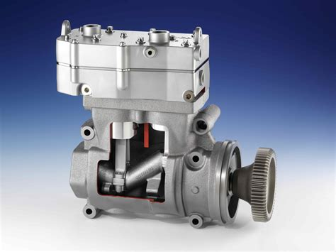 wabco launches revolutionary two stage air compressor for commercial vehicles improves