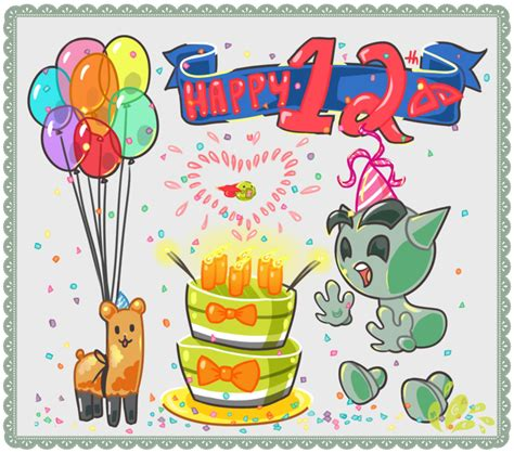 12 wishes of birthday wishes for twelve year