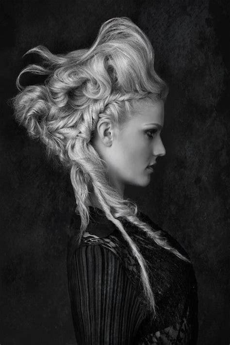 gothc viking hairstyle 291 best avant garde hair images on pinterest fantasy