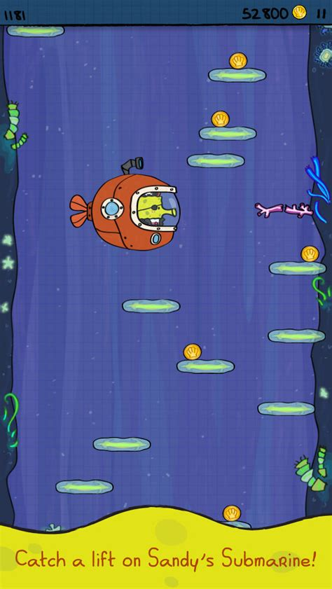 doodle jump spongebob doodle jump spongebob squarepants is doodle jump with