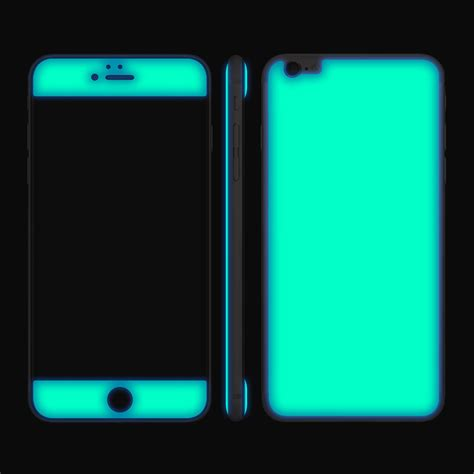 glow gel combo navy neon green iphone 6 6s iphone 6 6s plus adaptation la touch of