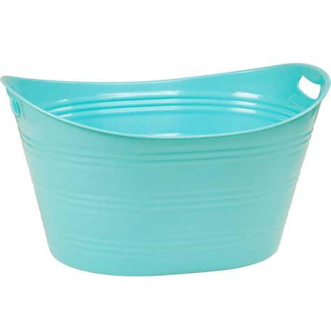 bathtub plastic plastic beverage tub in storage tubs and buckets