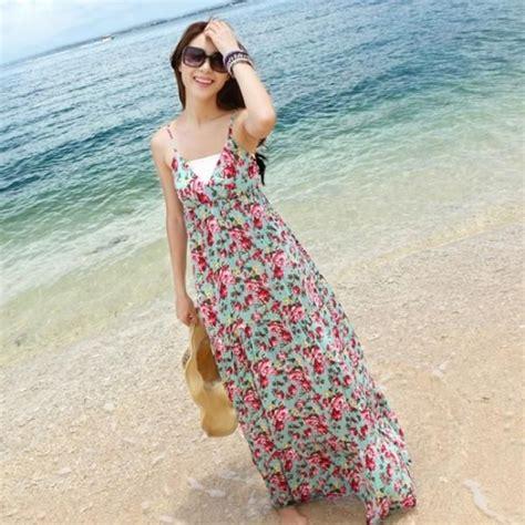 Baju Pantai Hawaii gaya cantik untuk vakansi ke pantai tanpa perlu til pakai