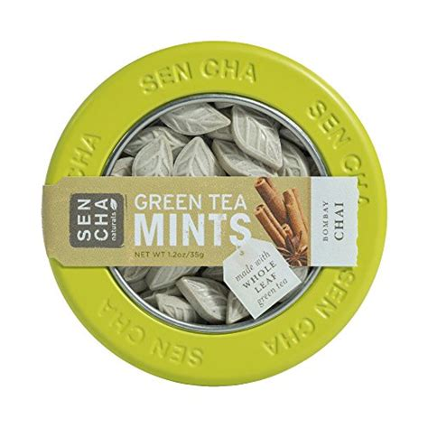 Sencha Green Tea Mints Original 9g Box candysumo the top 100 japanese candies and snacks