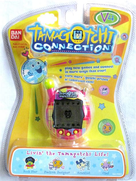 Tamagochi Connection Home tamagotchi connection v4 pocket size pet pink