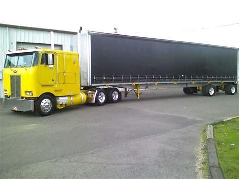 Used Custom Sleeper Trucks For Sale by Peterbilt Cabover Trucks For Sale Peterbilt Cabover