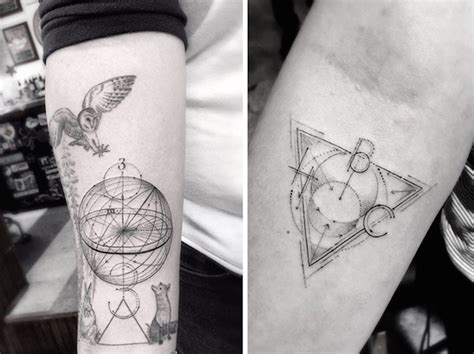 linear tattoos geometric tattoos by dr woo who s been giving tattoos