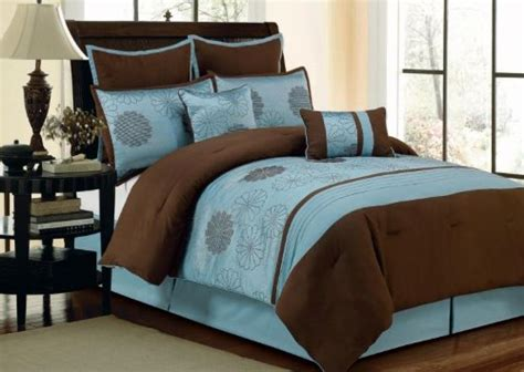 brown and blue comforter sets online duck river textile