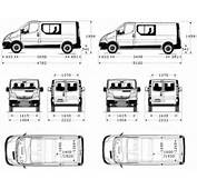 Com Blueprints &gt Cars Vauxhall Opel Vivaro Double Cab
