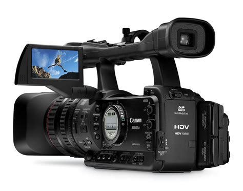Canon Introduce 2 New Camcorders To Their Mini Dv Line by Canon Xh A1s And Xh G1s 1080p 24 High Def Camcorders