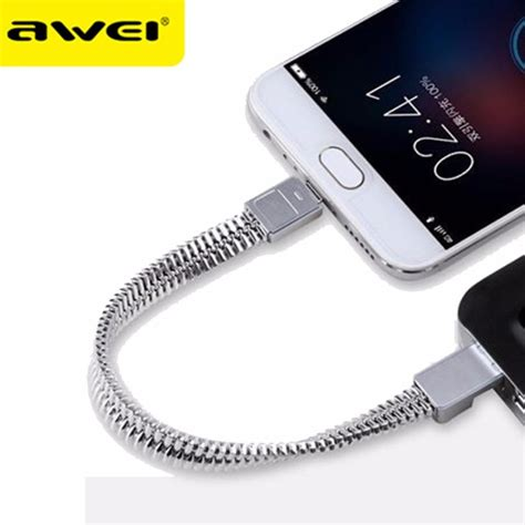 Charger Warna 15 Ere awei kabel charger micro usb bracelet design cl 86 silver jakartanotebook
