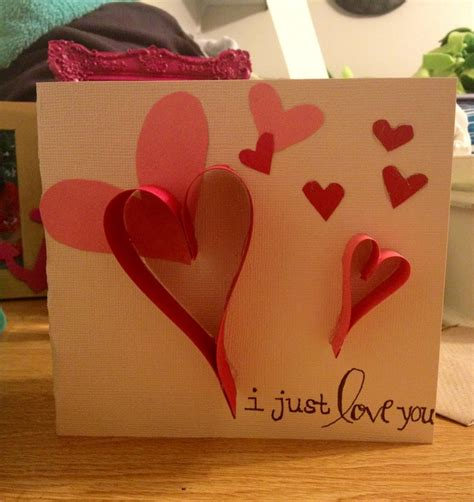 Handmade Cards For Boyfriend - and touching handmade cards ideas for