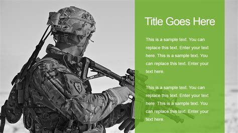 Free Military Powerpoint Templates Army Powerpoint Templates