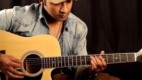 guitar tutorial by vijay kumar challa jab tak hai jaan intro guitar lesson in hindi