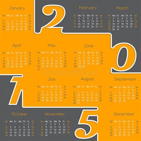 typography 2015 calendar cool new 2015 calendar design stock vector image 46707369