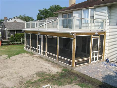 Screened Patio Designs Deck Screened Porch Screened Patio Pinterest