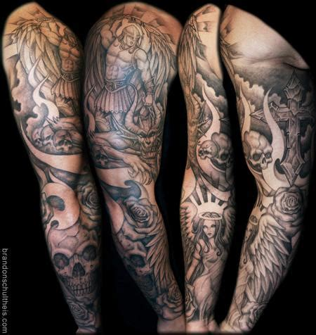 tattoo inspiration religious angels and demons tattoos tattoo inspiration worlds