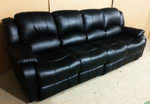 4 Seat Leather Reclining Sofa 4 Seat Leather Reclining Sofa Curved Reclining Sofa Foter Thesofa