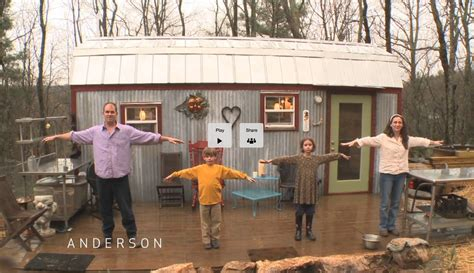 tiny houses for families family builds a tiny house for mortgage free future