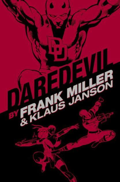daredevil by frank miller 0785195386 daredevil by frank miller klaus jason omnibus new printing by frank miller klaus janson
