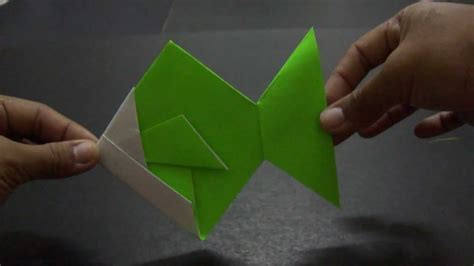 tutorial origami perahu tutorial origami ikan by syazwaniesuhaimi youtube