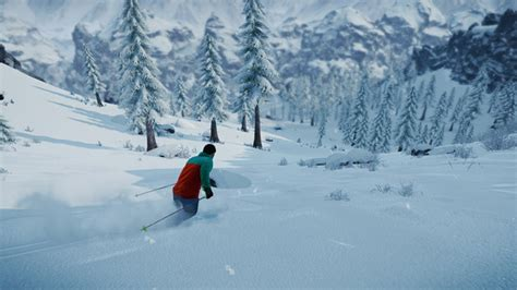 Snowy Gamis skiing snowboarding pc snow sounds terrific