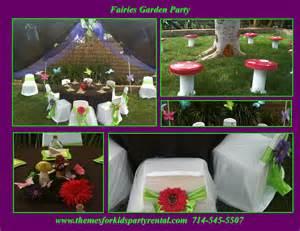 Magical fairy garden theme birthday party themes for