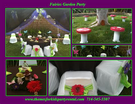 Decoration Ideas Centerpieces Supplies Themes For Kids Garden Birthday Ideas
