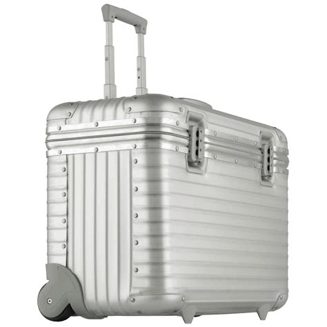 rimowa 174 aluminum pilot trolley large 138110 luggage at sportsman s guide
