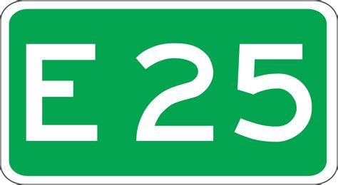 25 25 by European Route E25 In The Netherlands Wikipedia