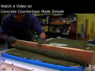 concrete countertops made simple step by step concrete countertops made simple a step by step guide