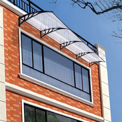 outdoor window awnings and canopies 190x80cm front back window door canopy outdoor awning rain