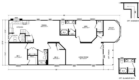 de bamboo complete ritz craft homes floor plans