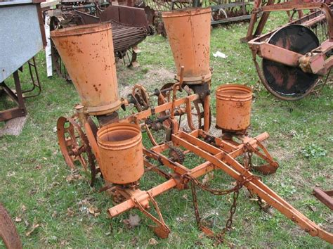 Allis Chalmers Planter by Allis B Lister Planter Yesterday S Tractors