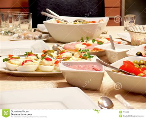 food on a table royalty free stock images image 7740359