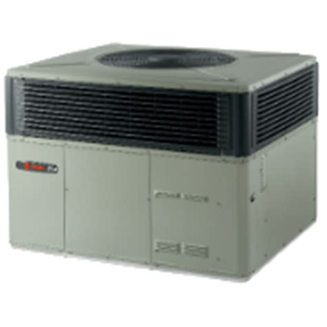 packaged hvac units trane