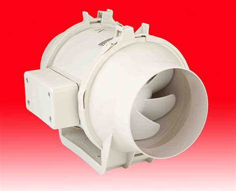 4 inch inline fan quiet 4 inch in line duct extractor fan 160m3 hr silent
